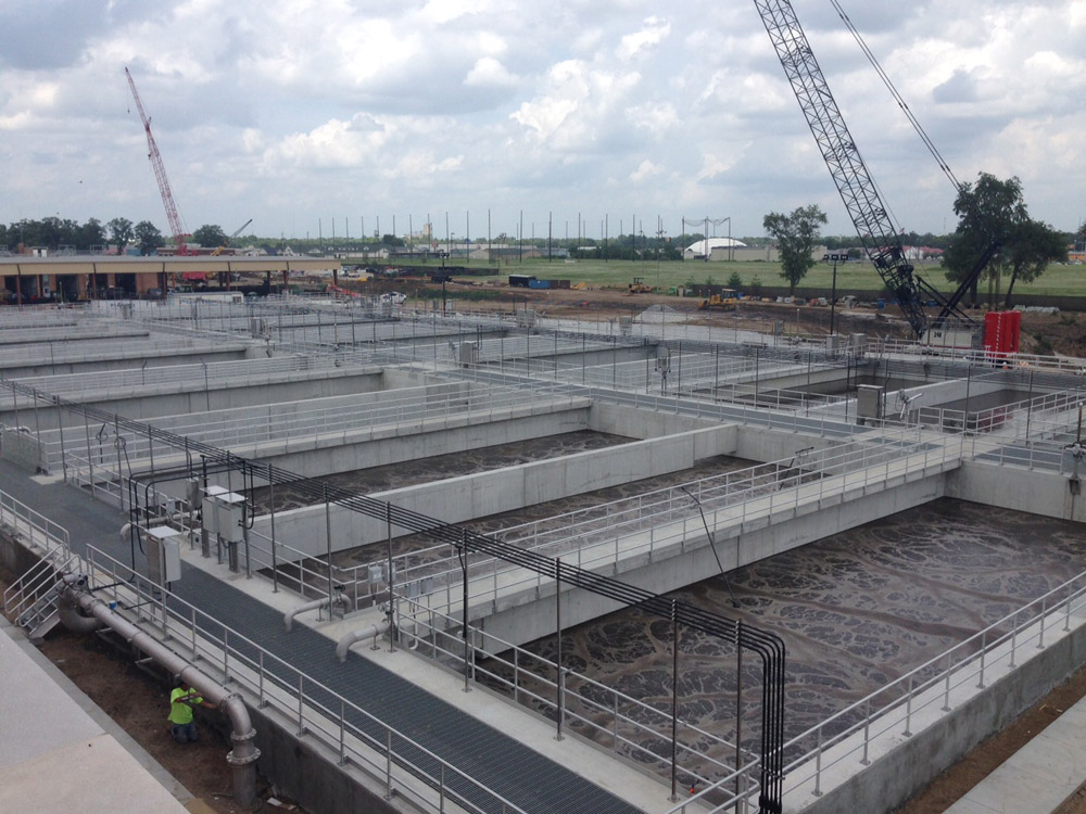 Plocher Construction - Terra Haute WWTP - Featured Project