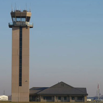 St. Louis Downtown Airport: Air Traffic Control Tower - Sauget, Illinois