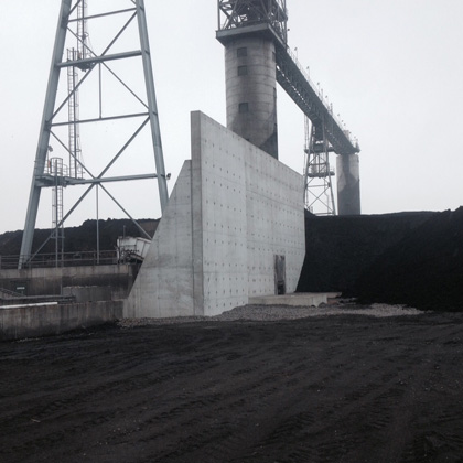 PSGC Stamler Coal Feeder Retaining Wall