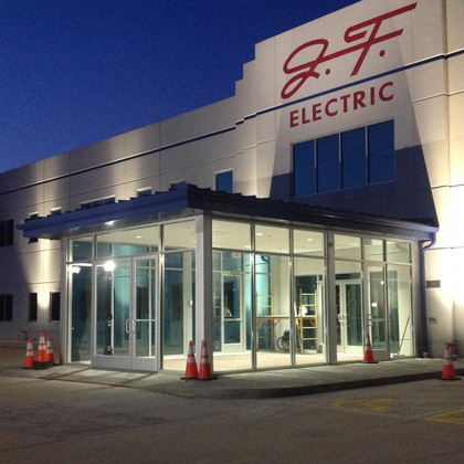 JF Electric Vestibule & Shop Addition