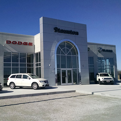 Chrysler Dodge Jeep Ram Dealership – Staunton, Illinois