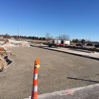 Mid-America Airport Site Work