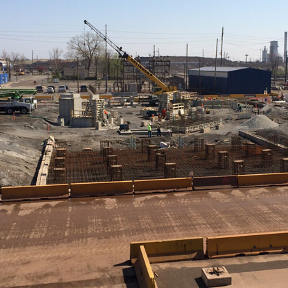 US Steel - Granite City Works BOF Foundations