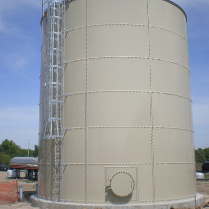 Staunton Water Treatment Plant Tanks