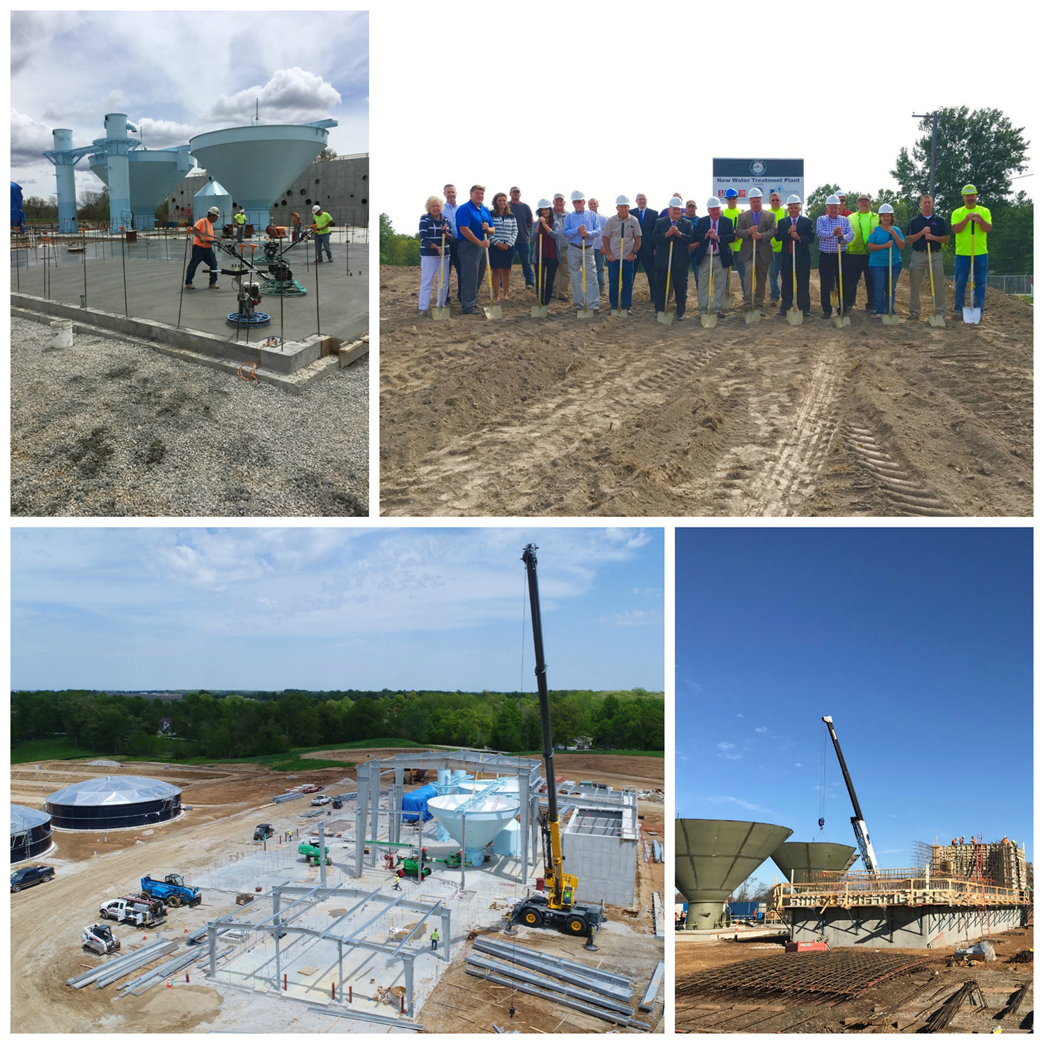 Plocher Construction - Taylorville Water Treatment Plant